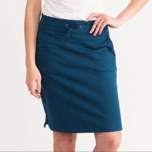 Agnes & Dora Weekend Skirt Deep Blue Size Small